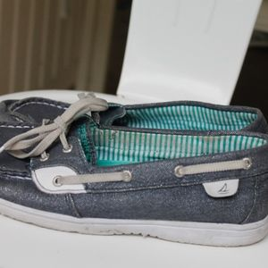 ☀️Sperry topsider denim boat shoes